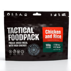 TFP-1007-Outdoor-Nahrung-Tactical_Foodpack_on_the_plate_Chiken_and_rices-2