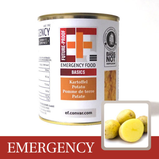 CVA-1036 - EF Kartoffelwürfel-Kartoffel-Langzeitnahrung